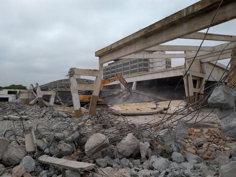 Demolição estrutural