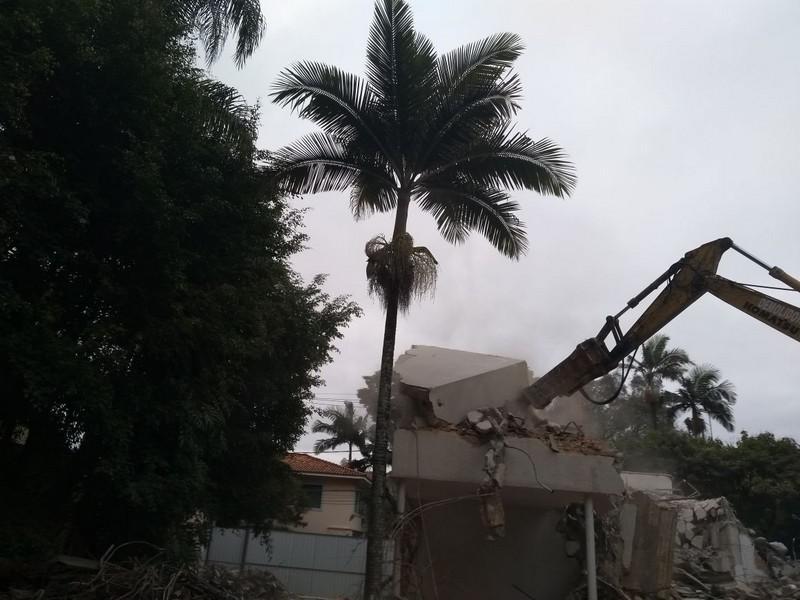 Demolição residencial