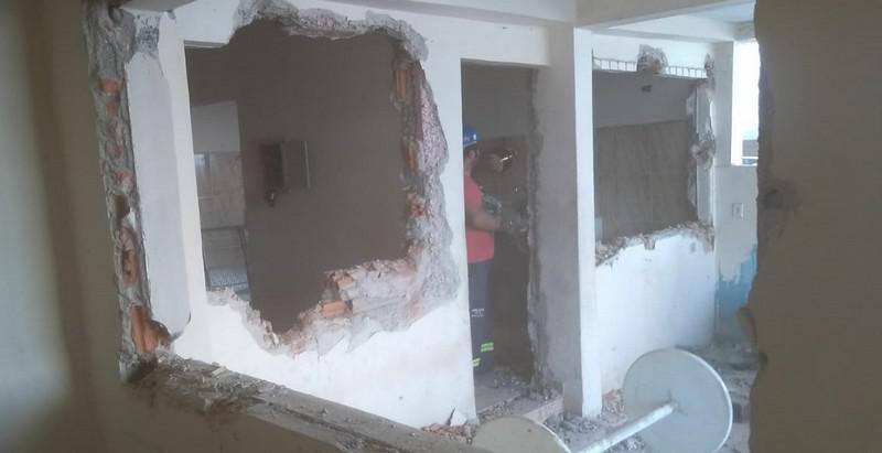 Serviço de demolição controlada