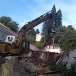 Demolição de alvenaria estrutural